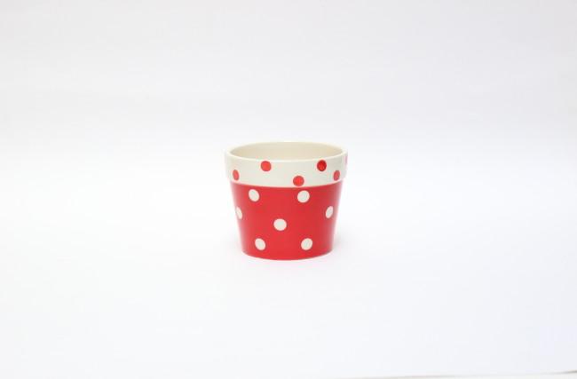 Vaso louça Vermelho