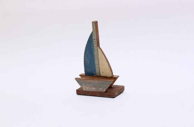 Barquinho Porta Cartão Azul