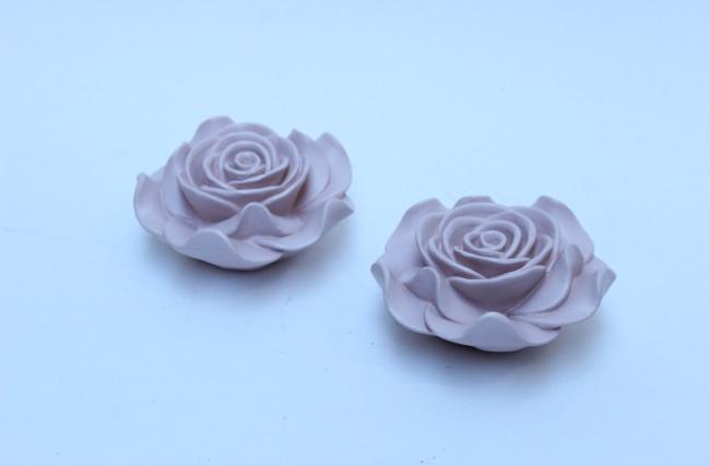Rosa de resina Rosa KS