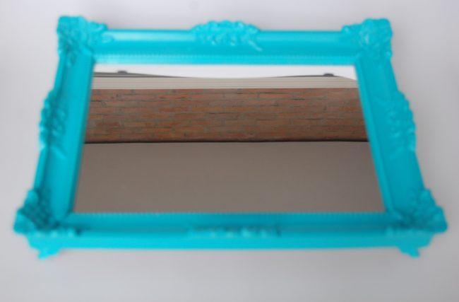 Bandeja Azul Turquesa M