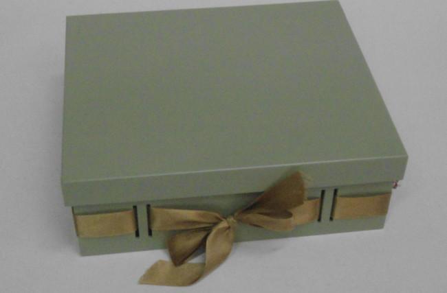 Caixa Passa-Fita Verde