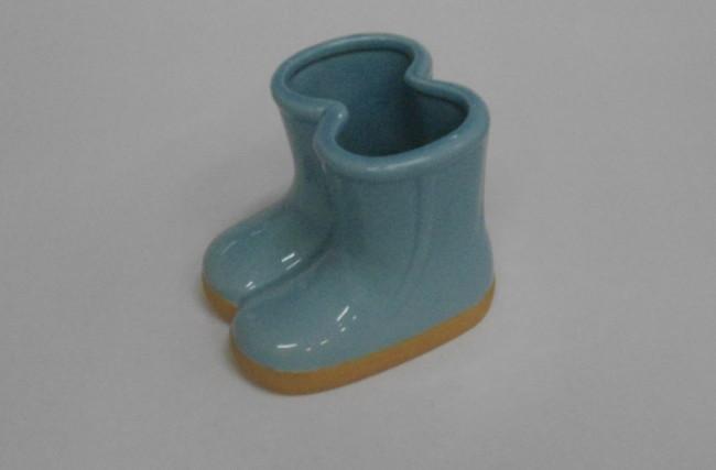 Botinha vaso Azul