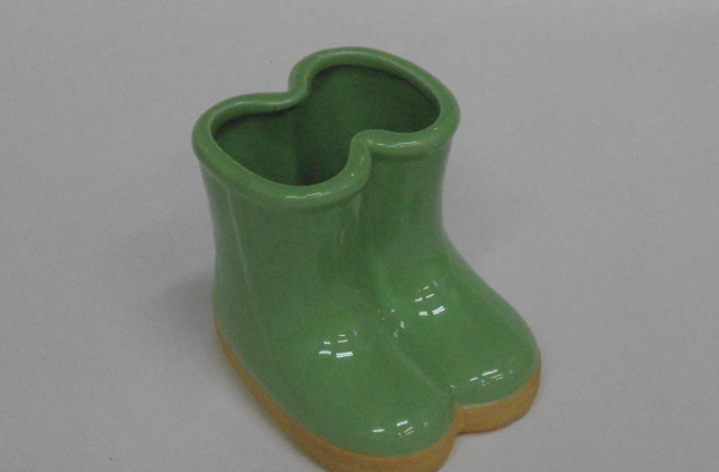 Botinha Vaso Verde