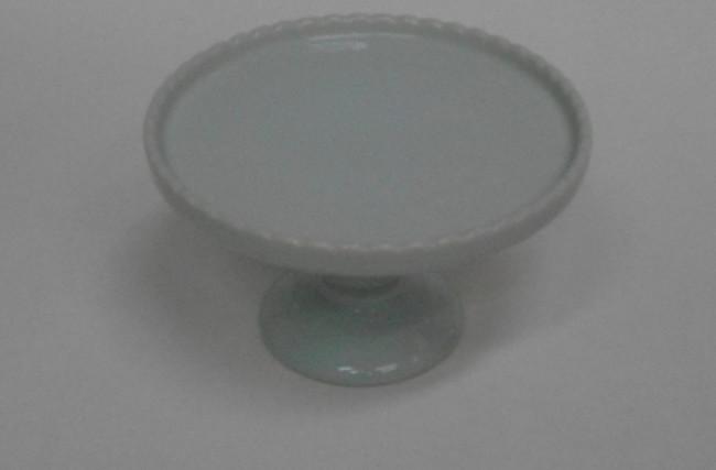 Prato para Bolo Verde Água