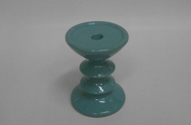 Castiçal Azul Tiffany