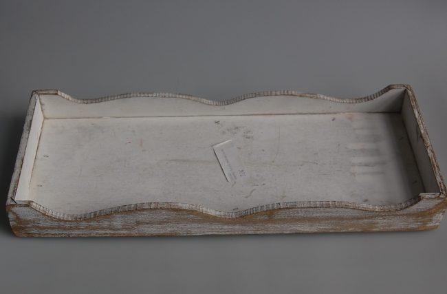 Bandeja Branco lixado