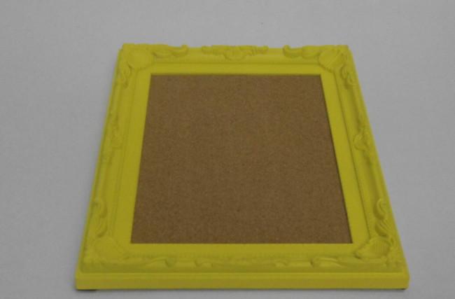 Bandeja cortiça Amarela