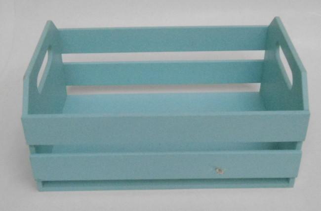 Caixote Azul Tiffany