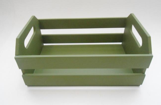 Caixote Verde oliva