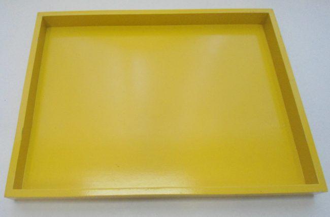 Bandeja Amarela G