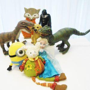 Personagens/ Brinquedos/ Animais