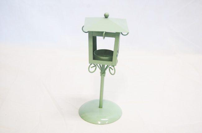 Porta vela Verde