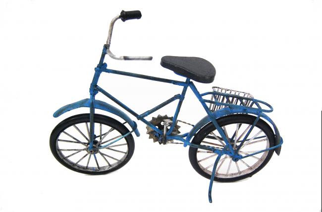 Bicicleta Indiana Azul