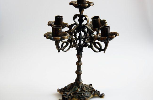 Candelabro Bronze