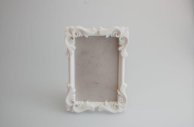 Porta retrato arabesco Branco