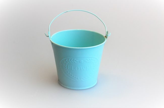 Balde Azul Tiffany P