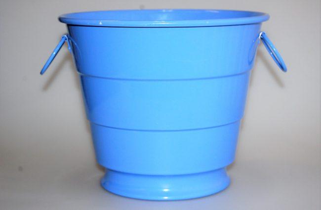 Balde gelo Azul hortência
