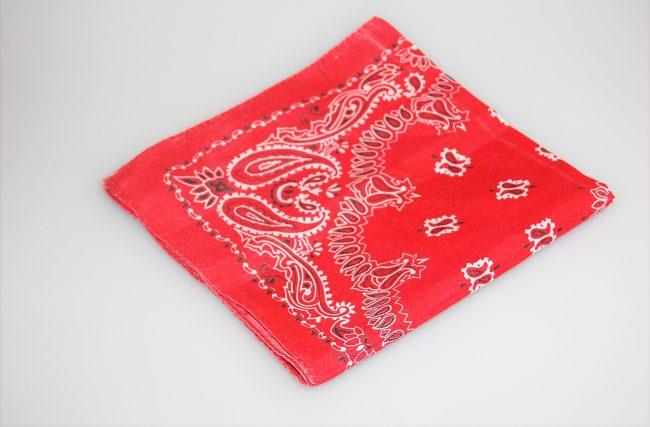 Guardanapo bandana Vermelho