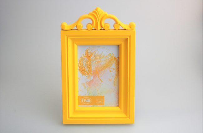 Porta retrato Amarelo