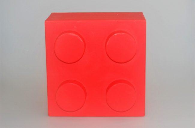 Luminária Lego Vermelho