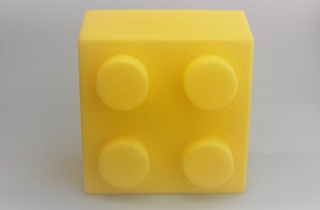 Luminária Lego Amarelo
