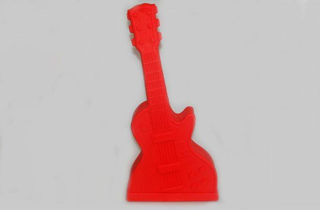 Luminária Guitarra Vermelha