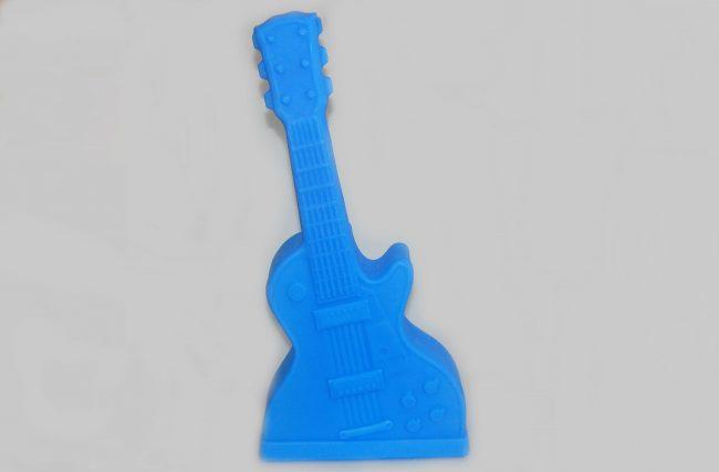 Luminária Guitarra Azul